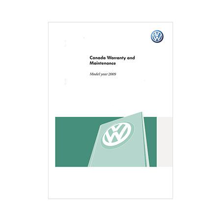 Warranty & Maintenance - VW