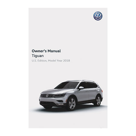 vw tiguan owners manual kit  edition  english vw